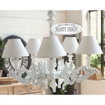 lampadario legno shabby Cerca con Google (con immagini