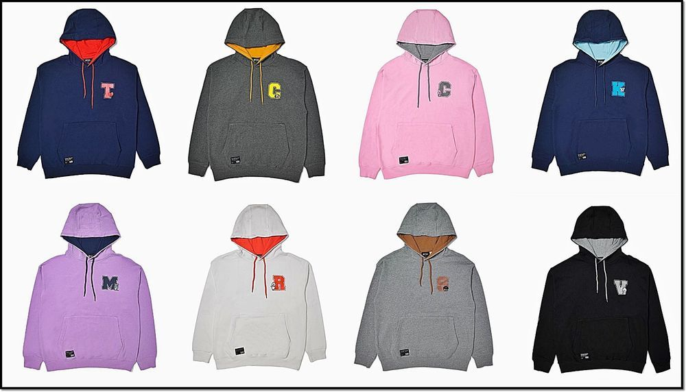 BTS] BT21 Official New Product BT21 Long Sleeve Hood