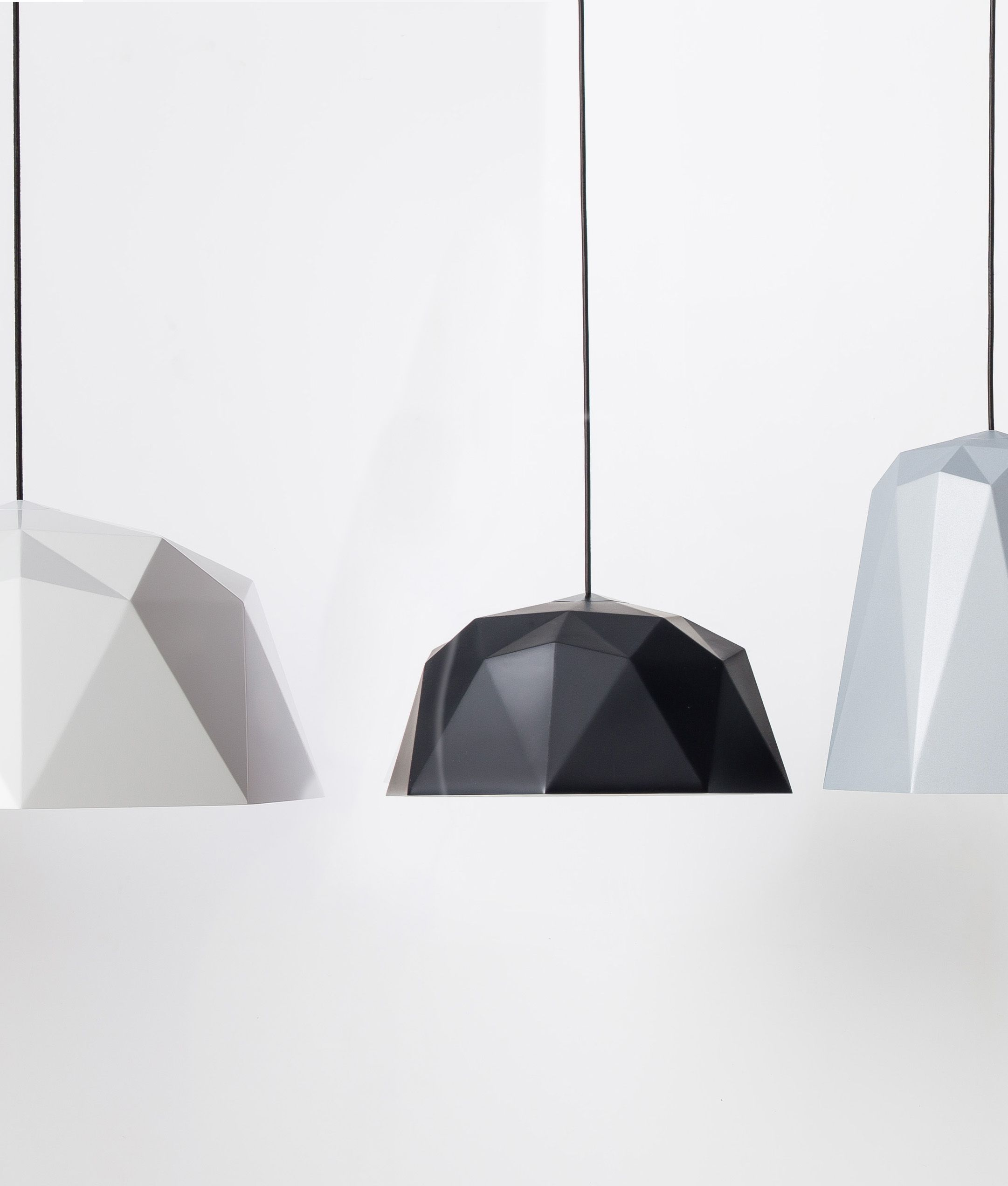 Geometric Pendant Light Kyoto Available in Four Colours