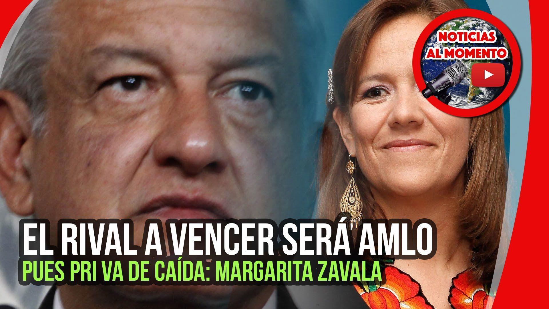El rival a vencer será AMLO pues PRI va de caída: Margarita Zavala 🔴 | N...
