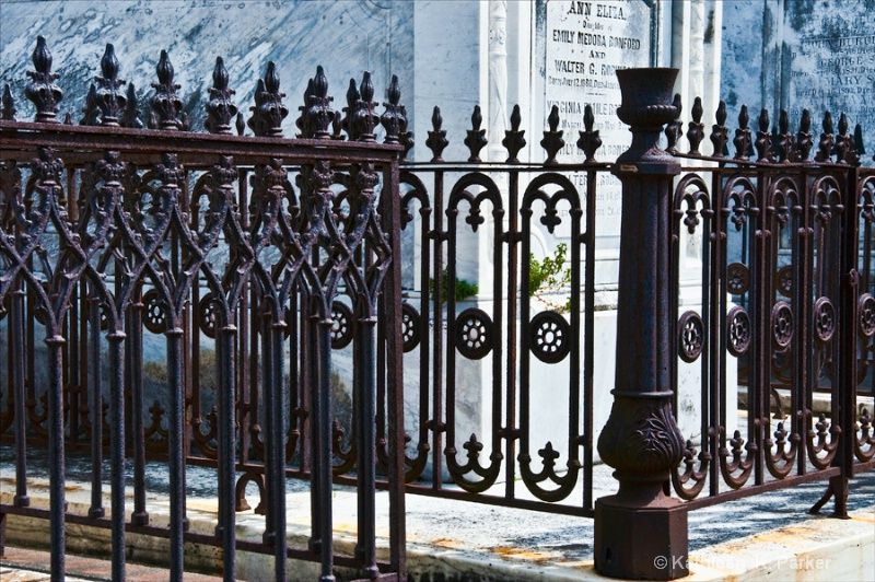 Wrought Iron Fence New Orleans Cemetery Wrought Iron Fences