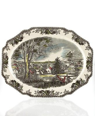 Johnson Brothers Friendly Village Platter