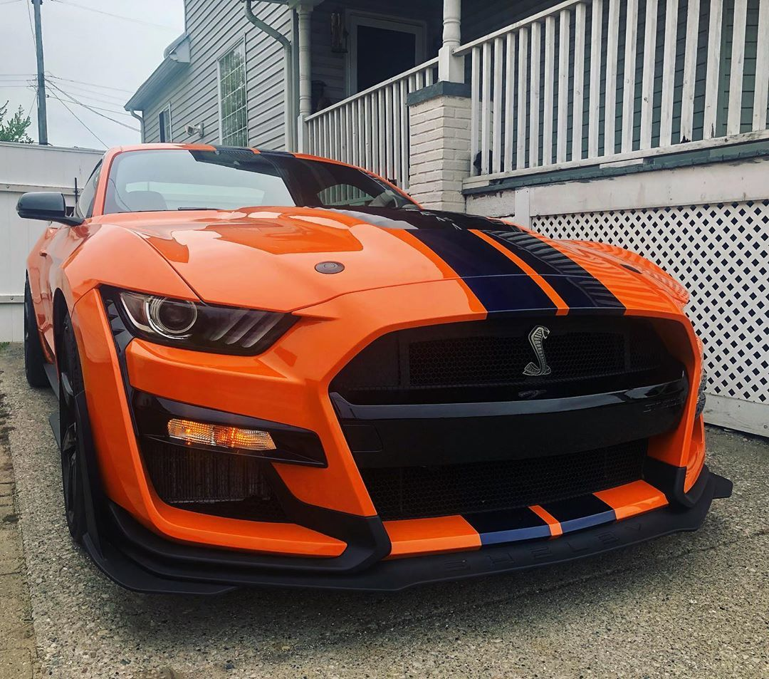 Twister Orange Gt500 Sports Car Mustang Cars Cool Sports Cars