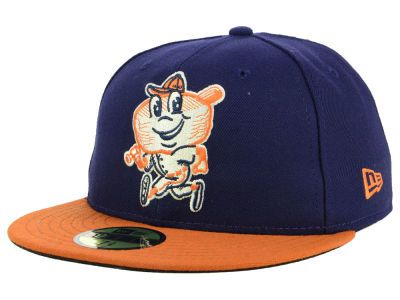 new product feb93 3a47c Montgomery Biscuits New Era MiLB AC 59FIFTY Cap