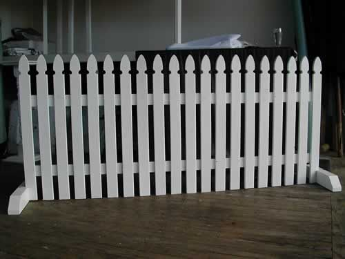 Tapered Ends On Feet Picket Fences Google Search