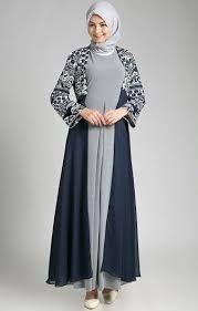 Model Baju Gamis Blazer Panjang