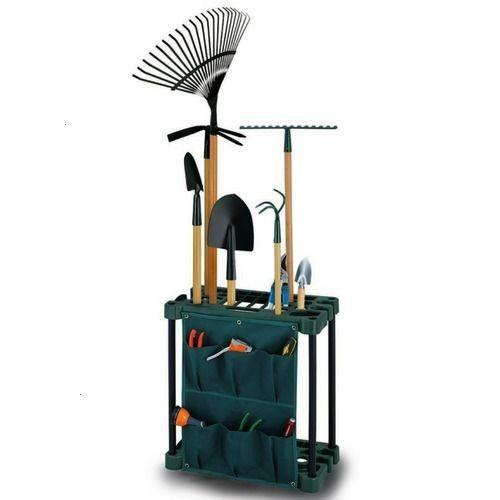 Organiser Rack for Garden Tool Plastic Floor Unit Hanger Stand Tools for sale online  Storage Organiser Rack for Garden Tool Plastic Floor Unit Hanger Stand Tools for sal...