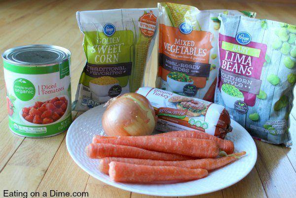 Crock pot Veggie Soup   - recipes -