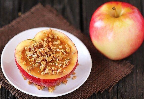 Inside-Out Caramel Apples, #Apples, #Caramel