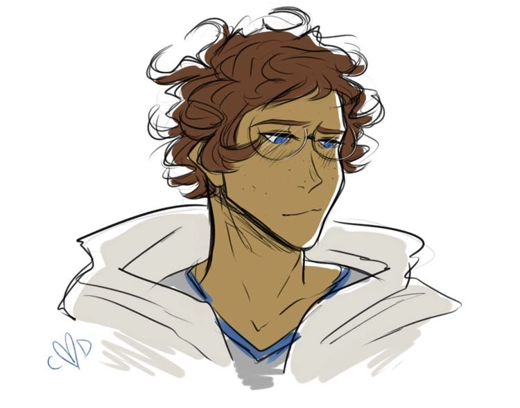 I Raise You A Lance With Glasses And Curly Hair Caseydambro On Tumblr Anime Dad Voltron Klance Voltron Fanart