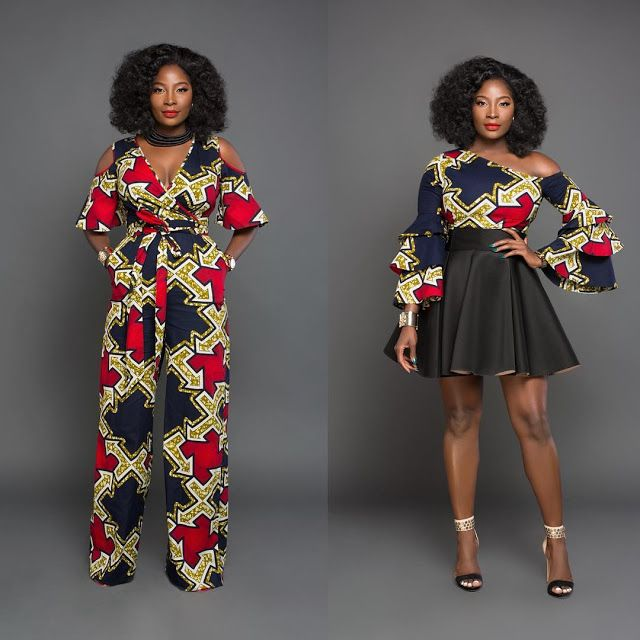 Od9jastyles 20 Best Trendy Styles Made With Ankara African Dresses Ankara Recent Styles