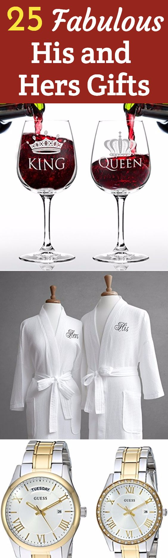 96bea6bac1 ... Wow Your Favorite Couple. Looking for His and Hers Gifts? Check out  these 25 awesome gifts for couples...perfect for weddings, showers or  Christmas!