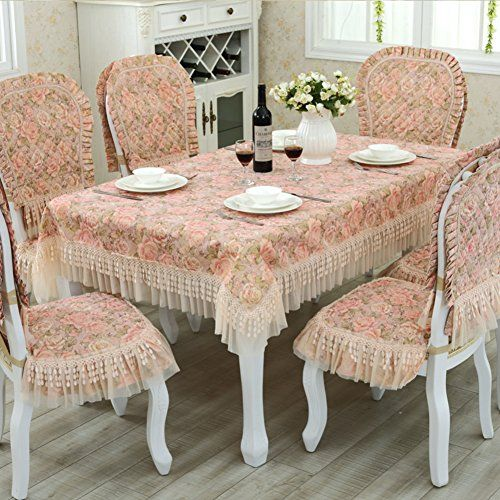 Fabric Table Cloth, Table And Chairs Set,Rectangular Coffee Table Table  Table Cloth,European Style Lace Small Table Cloth, Round Table Cloth A