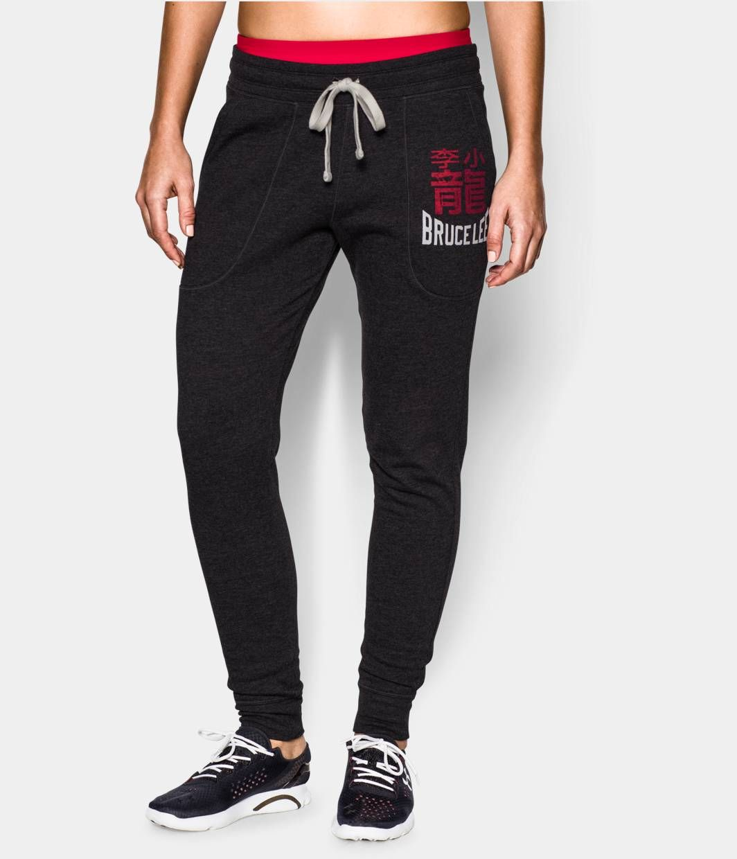 4fcc05862a Women's Roots Of Fight Bruce Lee Fleece Gym Pant | Under Armour US ...