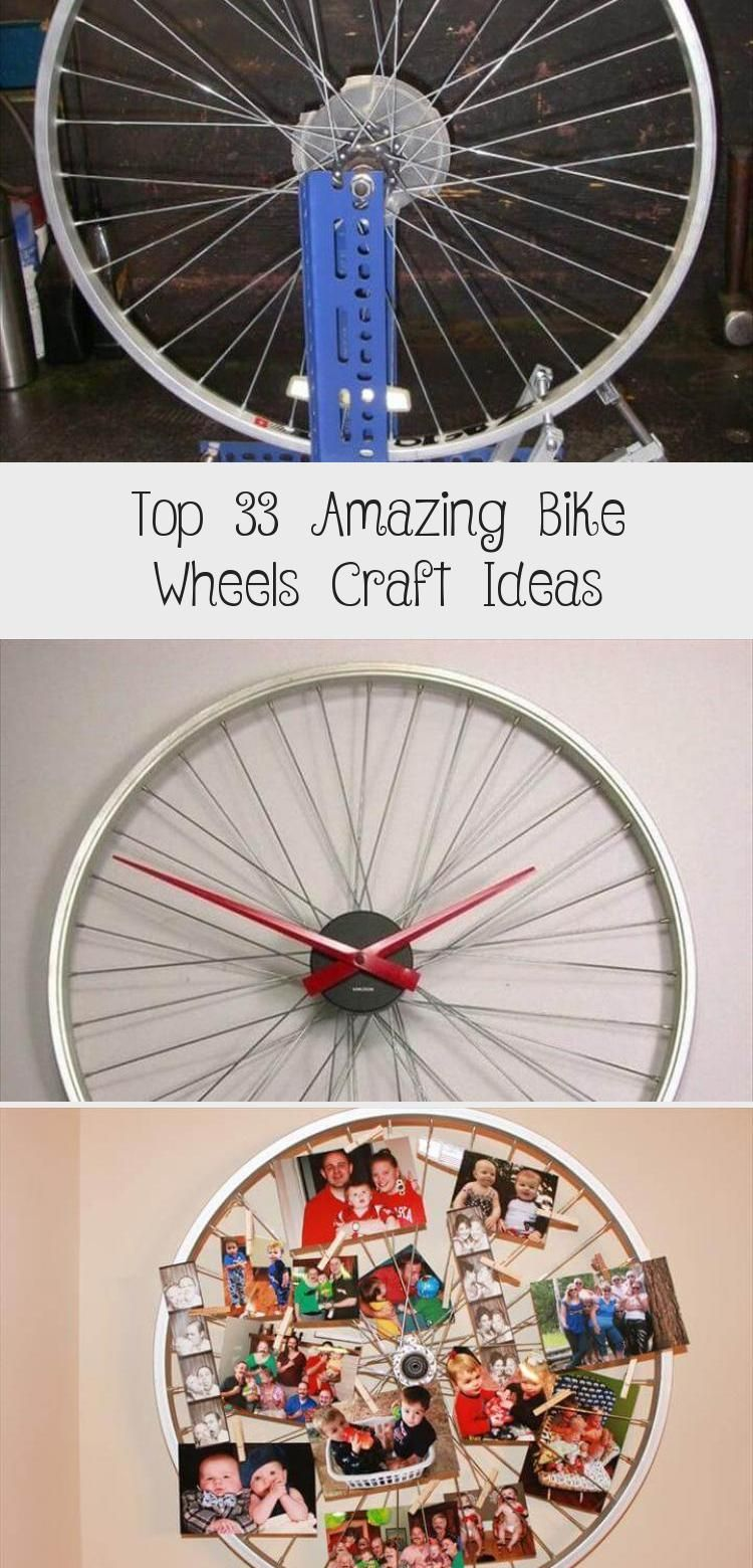 Top 33 Amazing Bike Wheels Craft Ideas In 2020 With Images