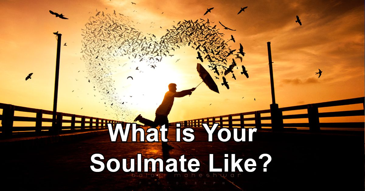 MY SOULMATE IS RESERVED -  Substance matters to you, and you're not really drawn to flashy or overly outgoing people. You're looking for a partner who will last a lifetime, and your soulmate is equally serious about love. You aren't a romantic, but you don't mind a partner who is. In fact, you sort of prefer it. You've got your feet firmly planted on the ground, and you would like someone to get you up in the clouds occasionally!