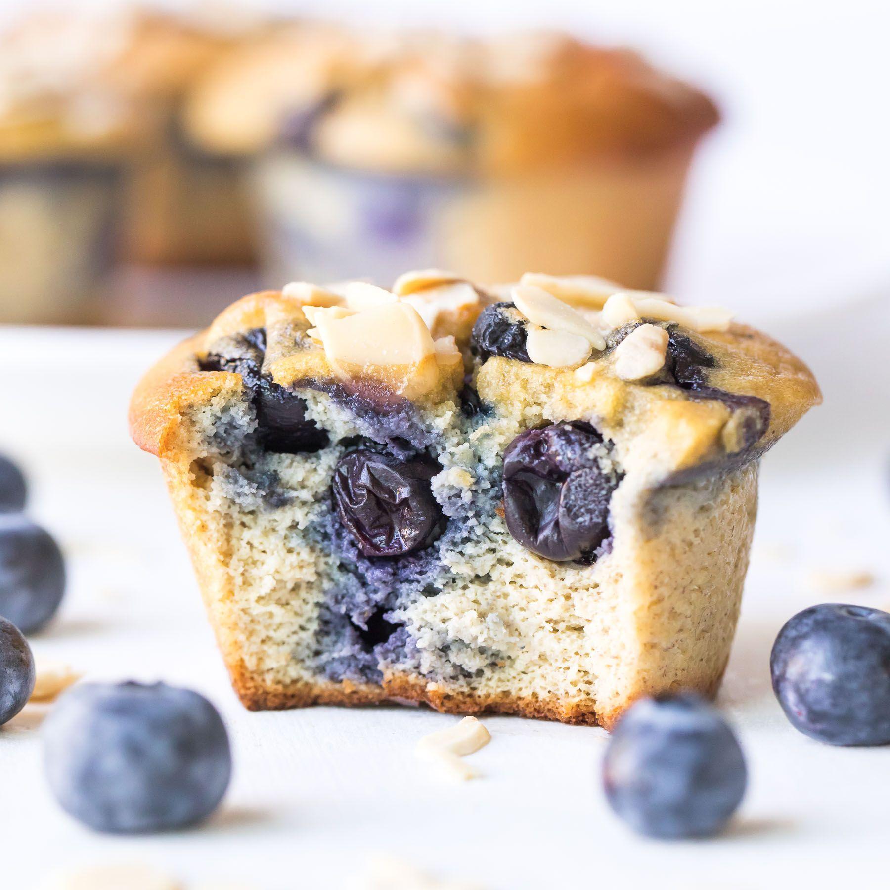 Paleo Blueberry Muffins Gluten Free Dairy Free Recipe Paleo