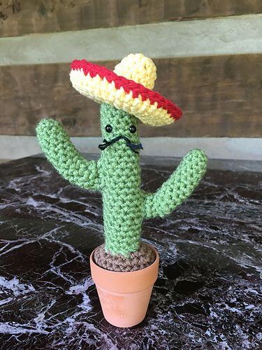 Ravelry: lnewnam's Cactus amigo with sombrero