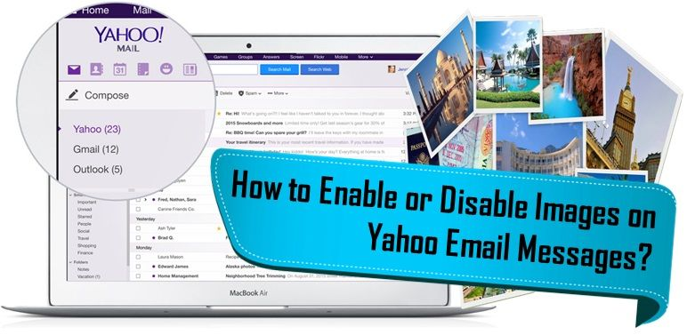 Is your yahoo mail not showing pictures or on the other