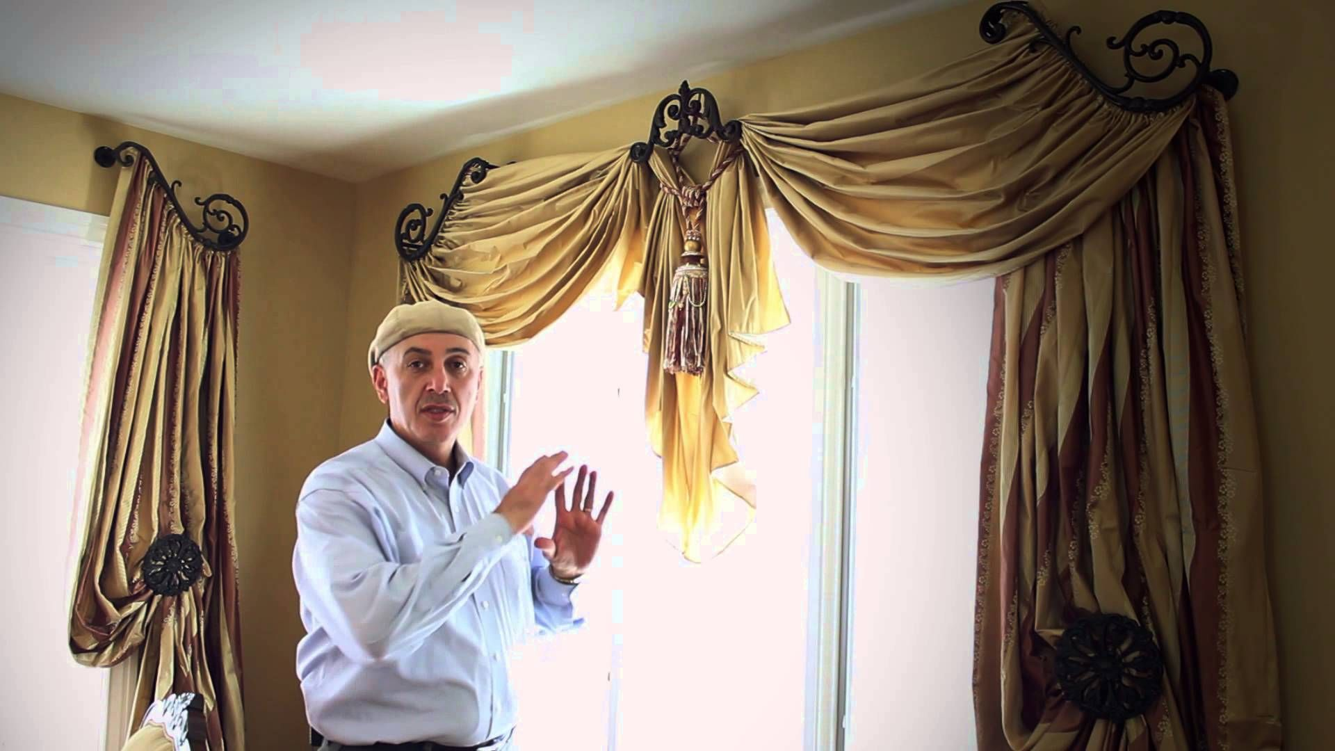 Do It Yourself Window Treatments: Window Treatment Ideas With Swags