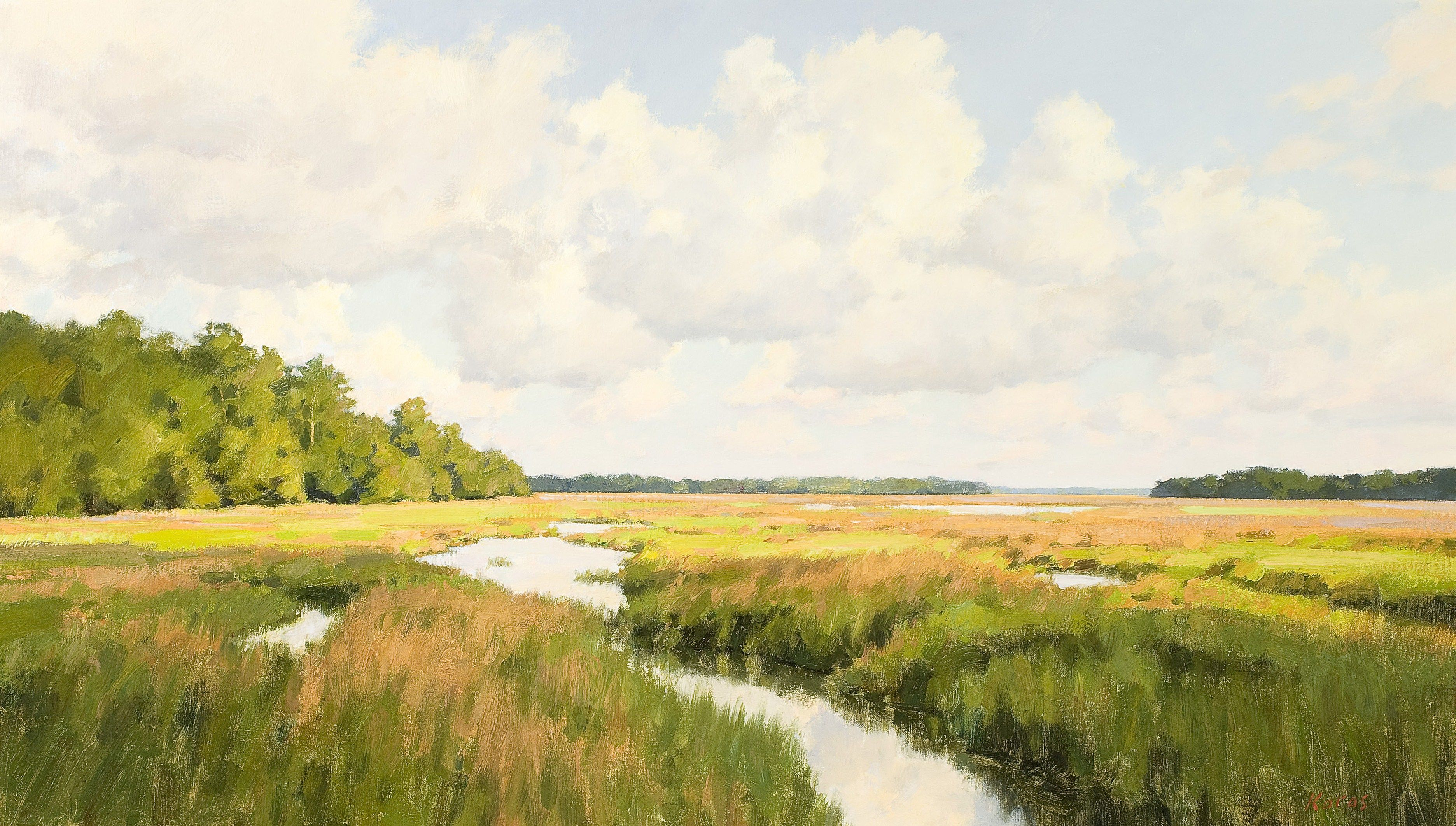 Quot Marsh Vista Quot By Michael B Karas See More Of His Work By