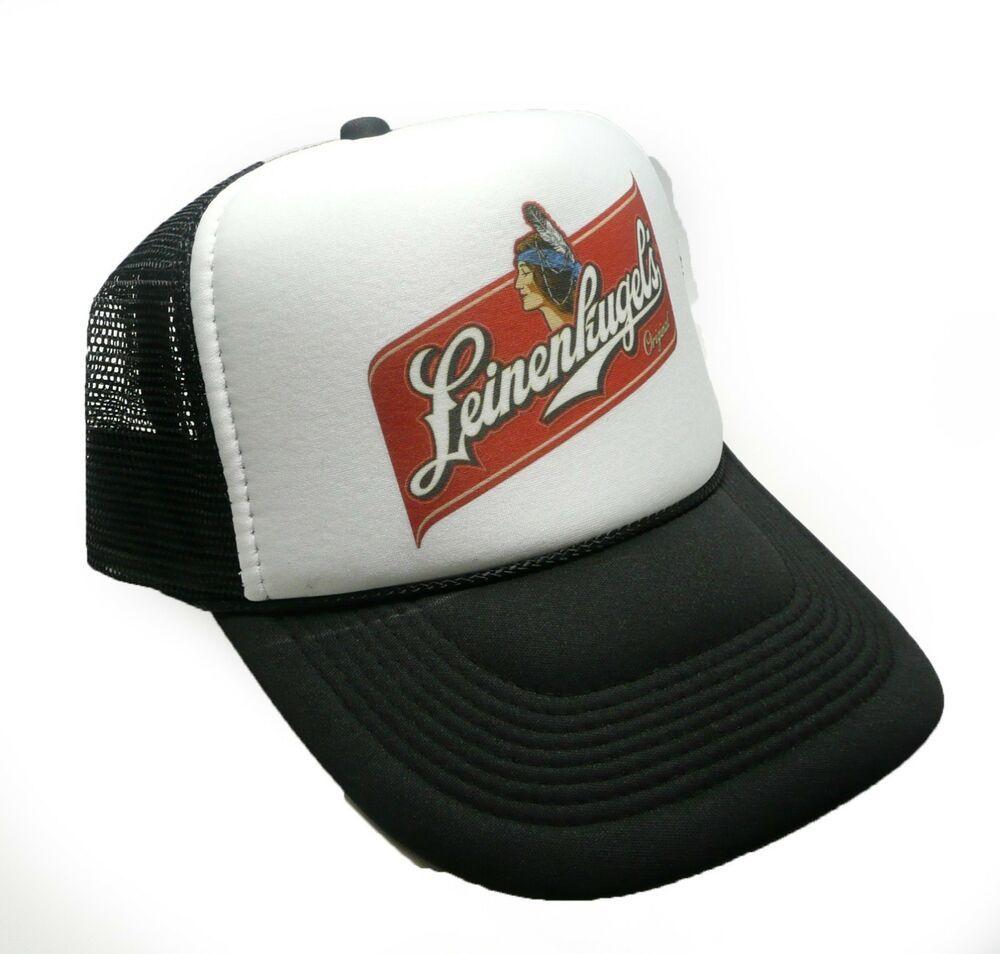 Leinenkugel Beer Hat Vintage Snap back Cap new adjustable black  trucker   TruckerHat 502310c59a5