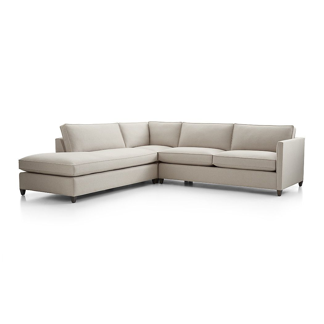 Shop dryden 3 piece left bumper sectional for a bit of sparkle and classic definition a hand applied nailhead trim is also available