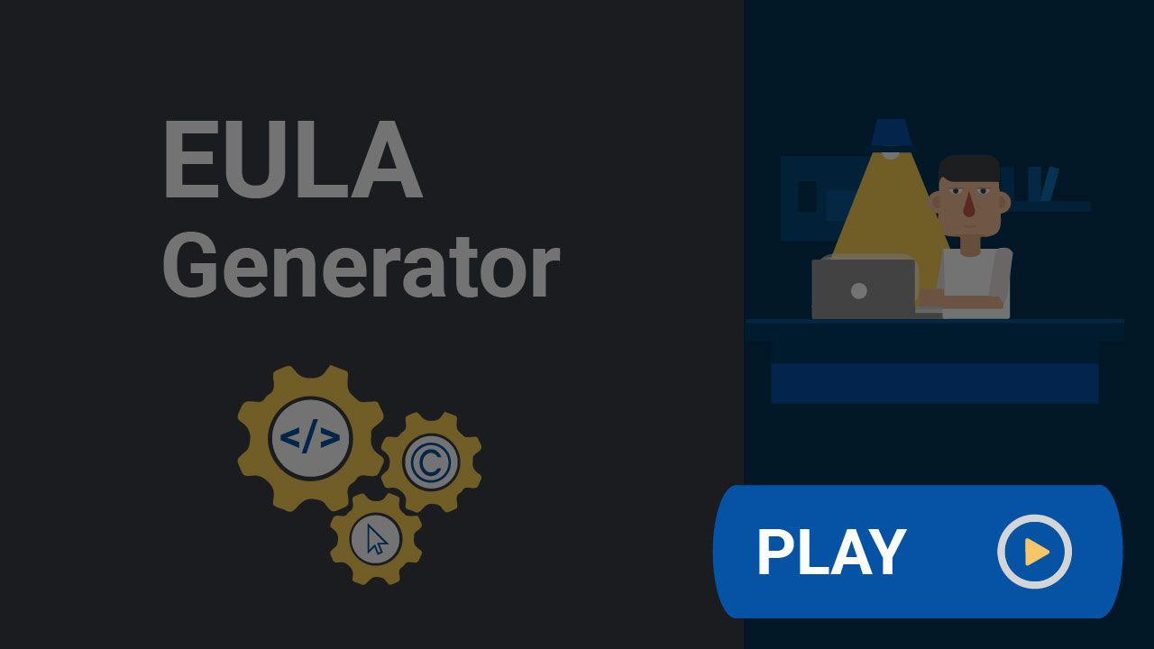 If You Need An Eula End Use License Agreement For Your App You