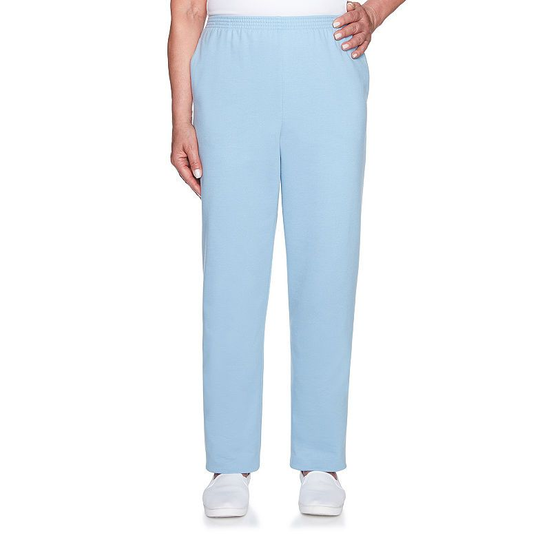 b6888374935fff Alfred Dunner At Ease Womens High Waisted Straight Pull-On Pants in ...