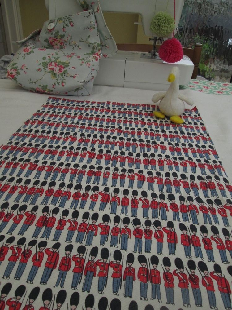 Bn Rare Fab Cath Kidston Cotton Duck In