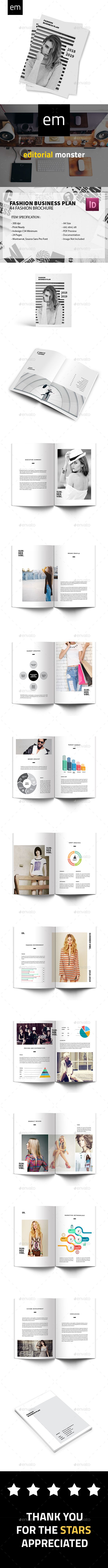 Fashion Business Plan | Folletos
