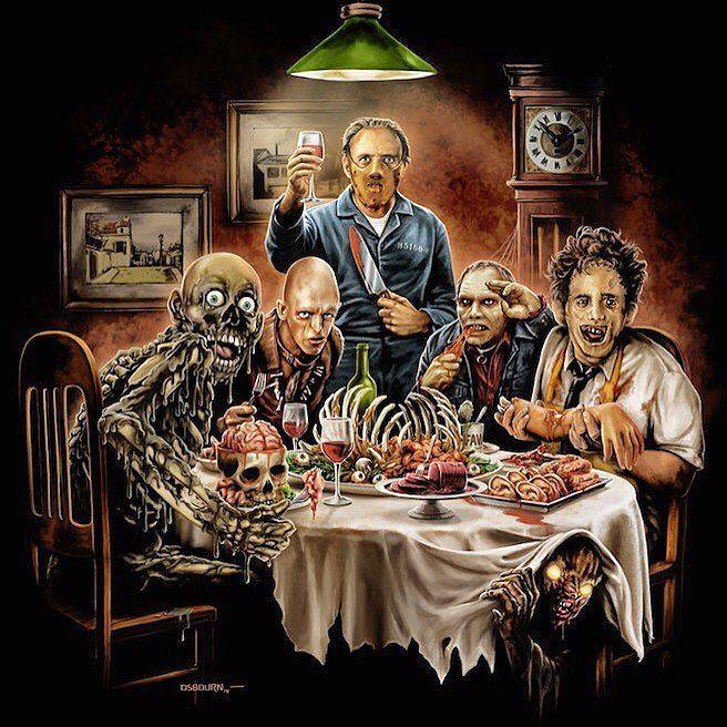 Happy thanksgiving everyone  #happythanksgiving #thanksgiving2016 #horror #thankful