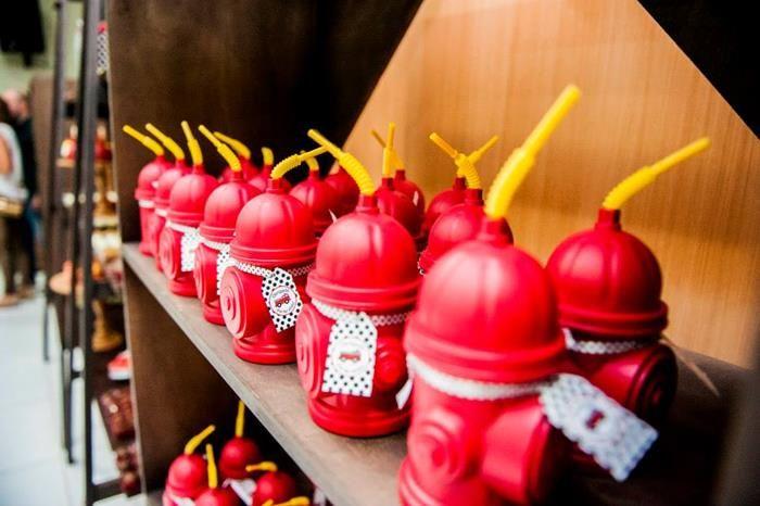 Firefighter Party Ideas Planning Idea Firetruck Supplies Cake