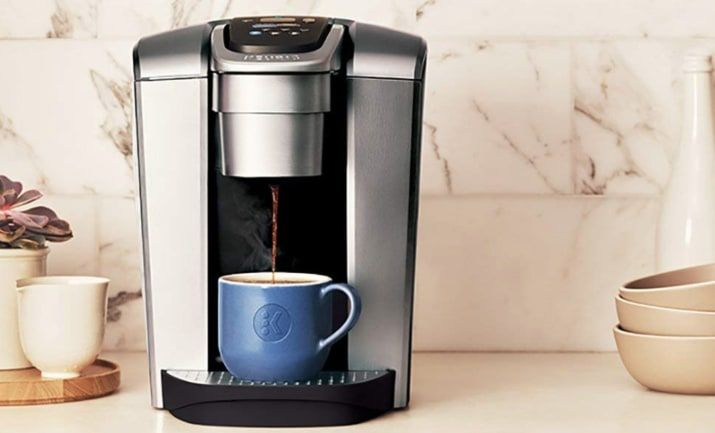 Keurig's New Coffeemaker Has An Iced-Coffee Feature, And ...