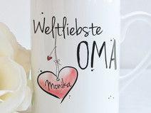 """Weltliebste OMA"" - Tasse"