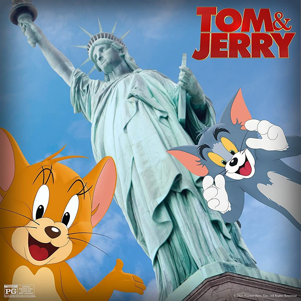 Tom And Jerry 2021 Tom And Jerry Tom And Jerry Movies Live Action