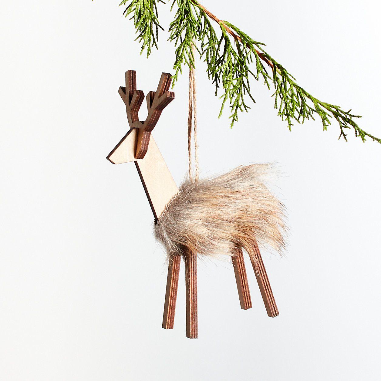 Pin By Megan Pelto On Christmas Reindeer Wood Reindeer Reindeer Ornaments Christmas Ornaments