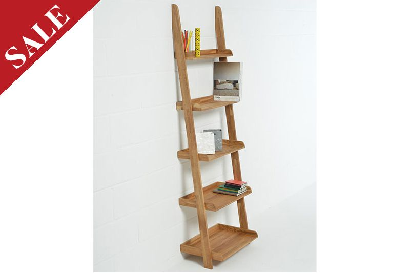 brand new 4c99d 3066b Leaning Ladder Shelves in Oak | Futon Company | House ...