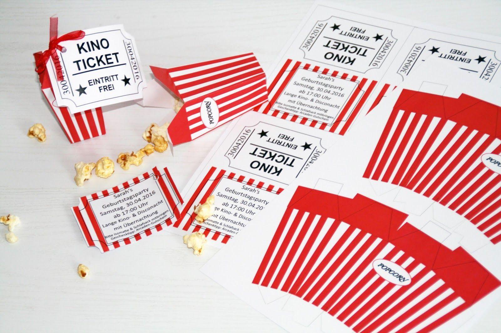 kino einladungskarten zum ausdrucken - sajawatpuja, Einladung ...