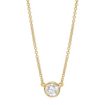 Betteridge estate tiffany co elsa peretti round brilliant betteridge estate tiffany co elsa peretti round brilliant diamond solitaire pendant elsa peretti aloadofball Images