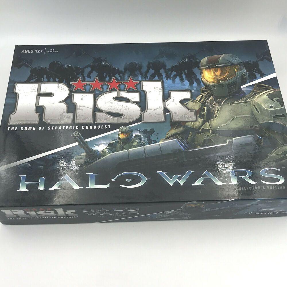Risk Halo Wars Collectors Edition Board Game Has Bro 2009