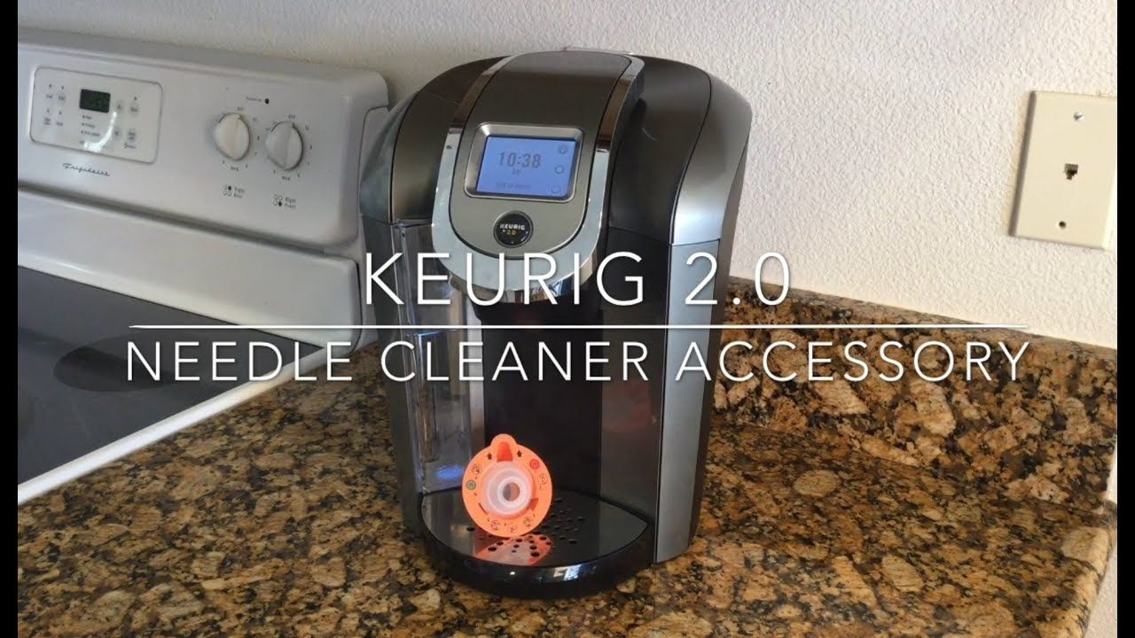 Keurig 2.0 Needle Cleaner Accessory This video shows how