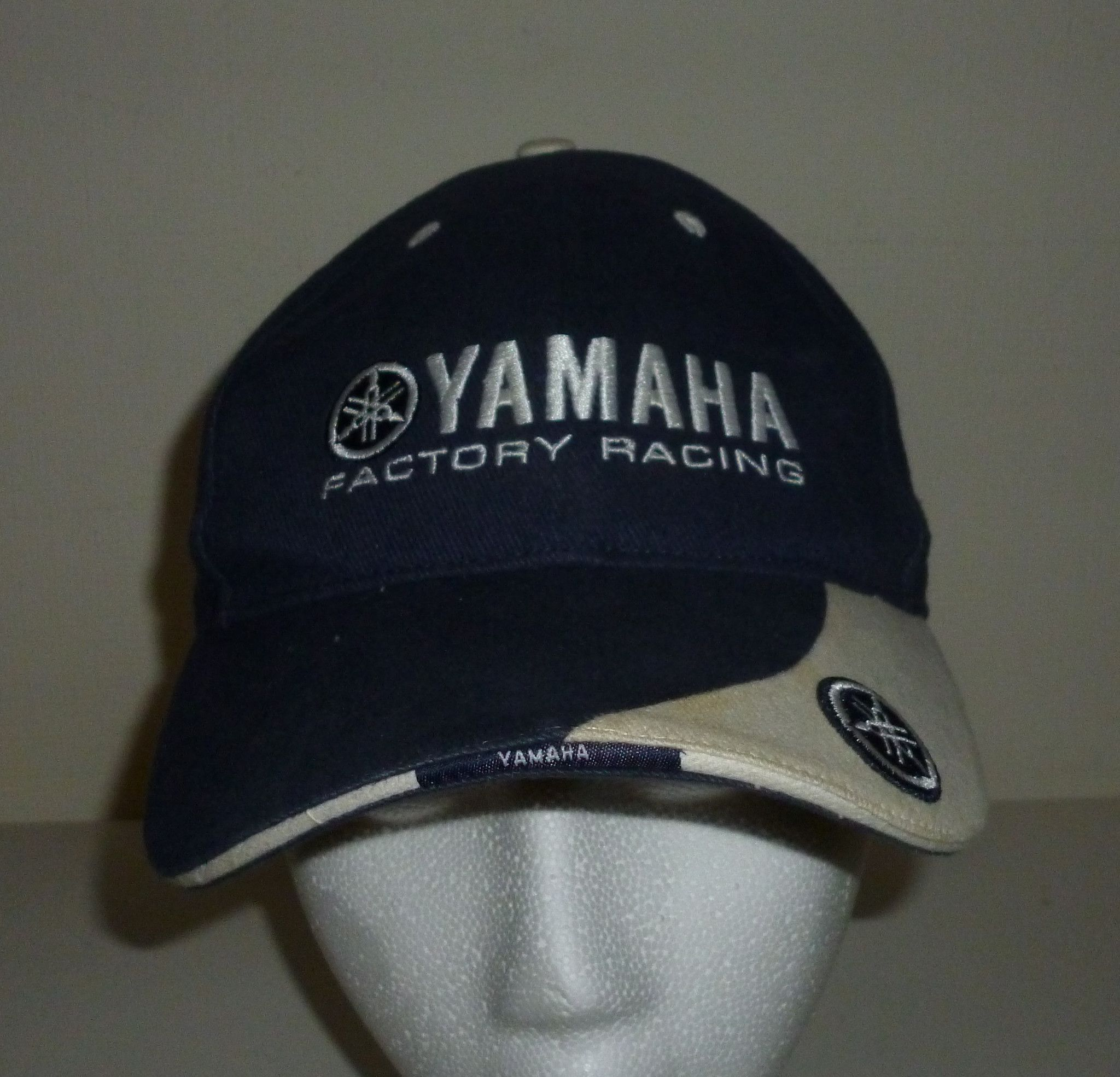 Yamaha Factory Racing Baseball Cap Hat  17b93befe8b