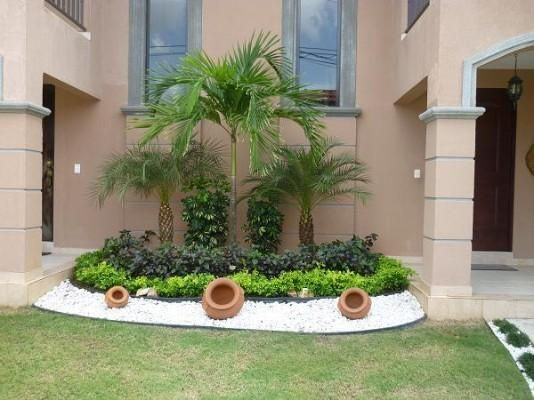 Jardines elegantes peque os jardim pinterest - Jardines exteriores pequenos ...