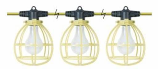 Construction Light String Cool Cheap Easy Diy $100 Work Lights For 20 Bucks  Work Lights Easy Design Inspiration
