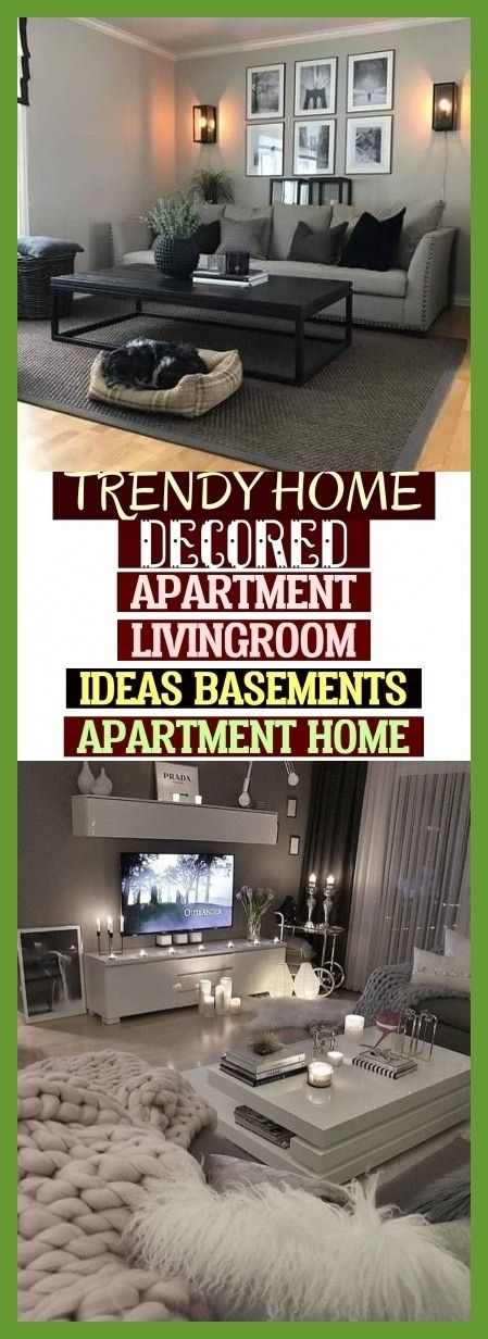trendy home decor wohnung wohnzimmer ideen keller apartment home - Trendy Home Decored Apartment Livingroom Ideas Basements Apartment Home