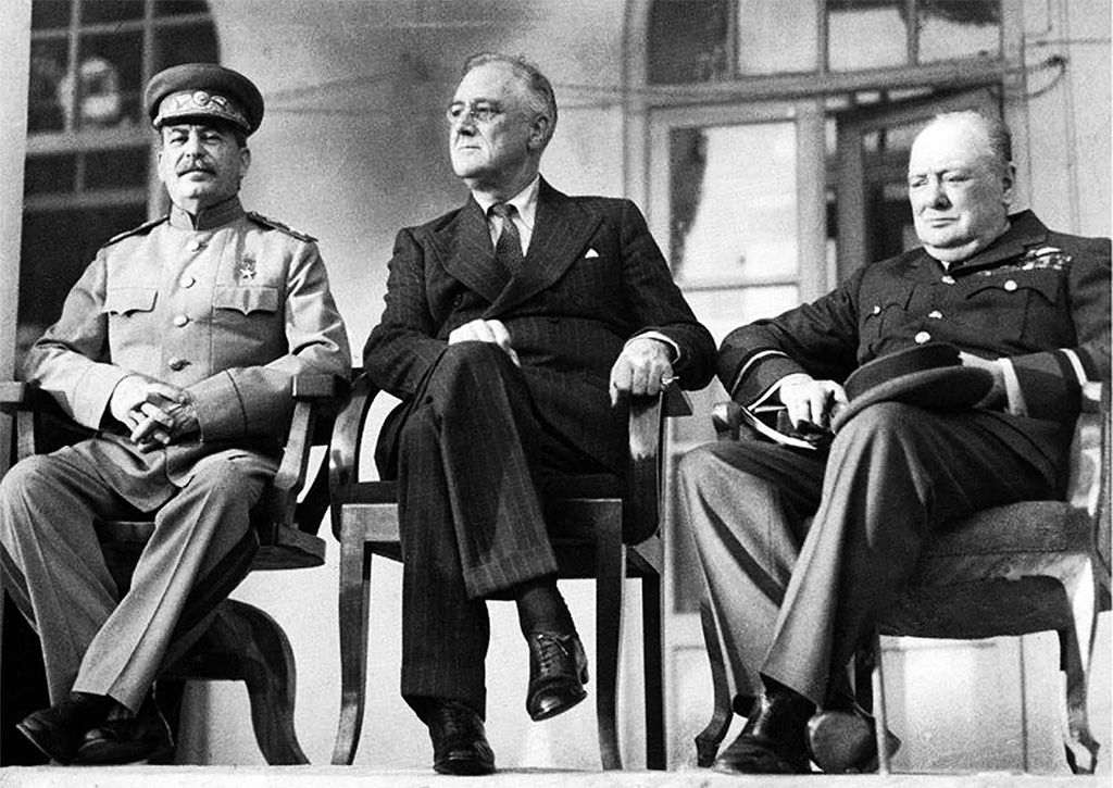 1943: FDR attends Tehran Conference with Stalin, Churchill, and Kai-Shek on this day in history - Veterans Today