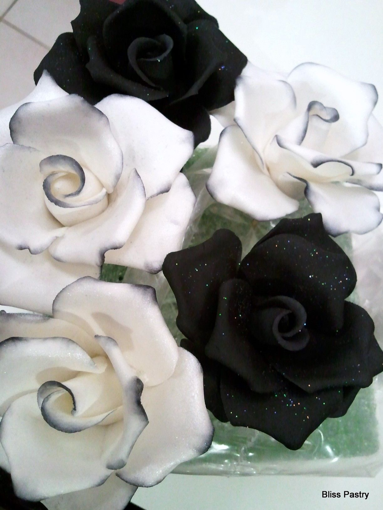 Color Negro Y Blanco Black White Black And White Roses