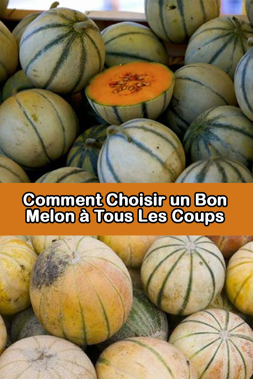 Voila Comment Choisir Un Bon Melon A Tous Les Coups C Est Bon