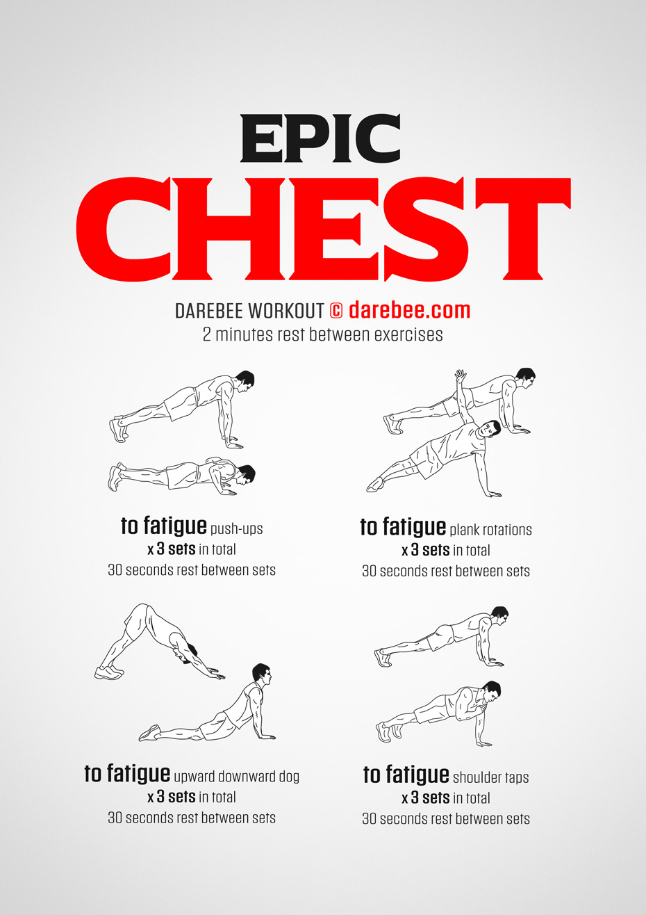 Epic Chest Workout